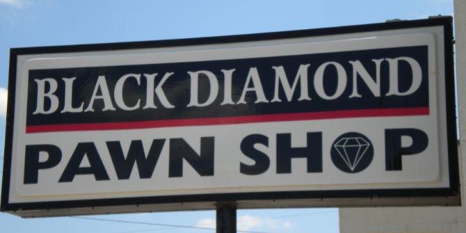 Black Pawn Diamond