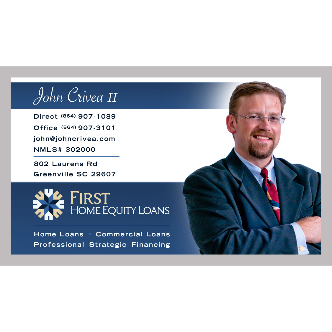 John crivea ii first home equity loan